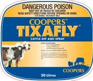 Label - Coopers Animal Health
