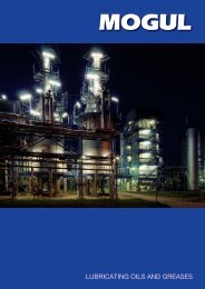 LUBRICATING OILS AND GREASES - Paramo