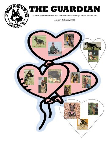 January-February Guardian - German Shepherd Dog Club of Atlanta