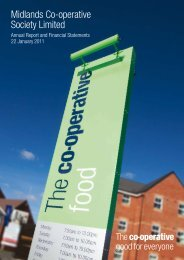 Midlands Co-operative Society annual report 2011