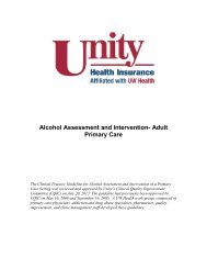 Alcohol Assessment and Intervention- Adult Primary Care