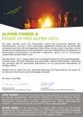 alpine power feuer in den alpen - Mountain Wilderness Schweiz - Seite 2