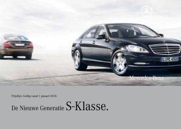 De Nieuwe Generatie S-Klasse. - EU-Import