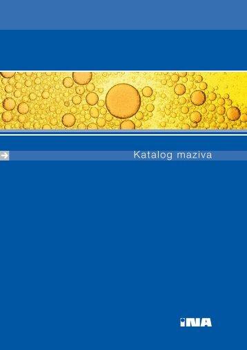 Katalog maziva - INA Crna gora