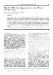 DuFresne et al 2006 - Department of Mathematics and Statistics