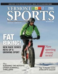 Vermont Sports January
