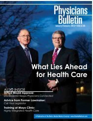 January/February 2013 - Metro Omaha Medical Society