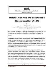 Marshal Alex Mills and the 1876 Disincorporation of ... - Gilbertgia.com