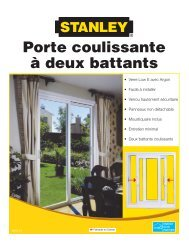 Porte coulissante à deux battants - Home Depot