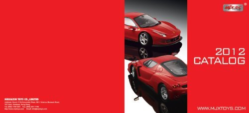 LICENSED R/C CAR Catalog Download - meijiaxin toys co.,limited