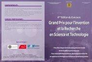 Grand Prix pour l'Invention et la Recherche en Science et Technologie