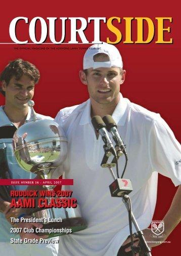 AAMI CLASSIC - Kooyong Lawn Tennis Club