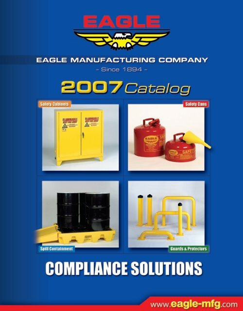 Stainless Steel Eagle 1301 Laboratory Safety Can 6 Width X 13 Height X 8 Depth 1 Gallon Capacity