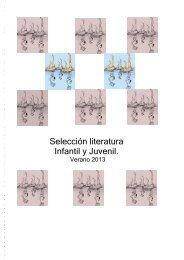 Selección literaria InfantilJuvenil verano - gva