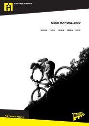 USER MANUAL 2009 - Magura