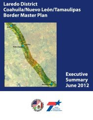 Executive Summary - Welcome to the Texas Department of ...