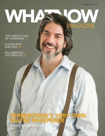 WHATNOW Magazin January 2015