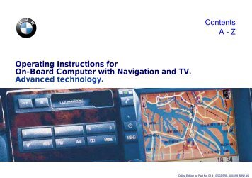 Operating Instructions for On-Board Computer with Navigation and ...