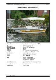 Pdf-Download Gebrauchtboot SwissCat 15 - Lehmar