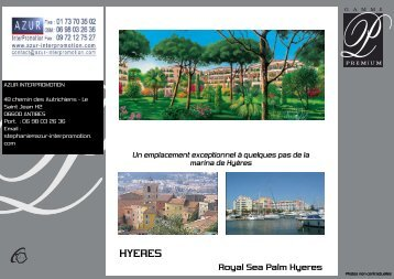 HYERES - Azur InterPromotion