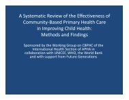 Perry, CBPHC review