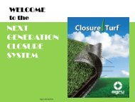 Closure System for Waste Sites - SCS Engineers