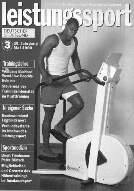 leist - Institut für Sportwissenschaft der Universität Bayreuth