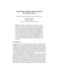 Using Datalog with Binary Decision Diagrams for ... - CSAIL People
