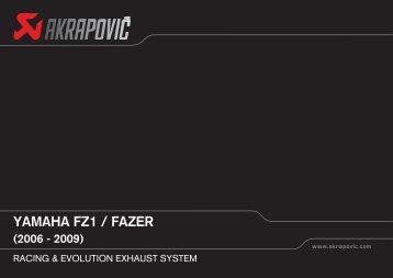 yamaha fz1 / fazer (2006 - 2009) - GP Products
