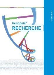 Laboratoires de recherche (juin 2008) - Annuaire Genopole