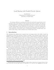 Load Sharing with Parallel Priority Queues - ResearchGate
