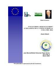 """""""encuentros y desencuentros"""" le relazioni tra l'unione europea e ..."""