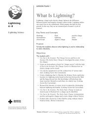 6-8 What Is Lightning?