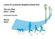 Lynton & Lynmouth Neighbourhood Plan - Exmoor National Park