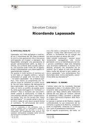 Ricordando Lapassade - Amaltea