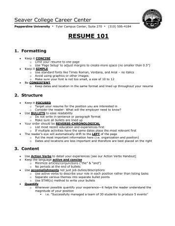 how to write a professional resume and cover letter