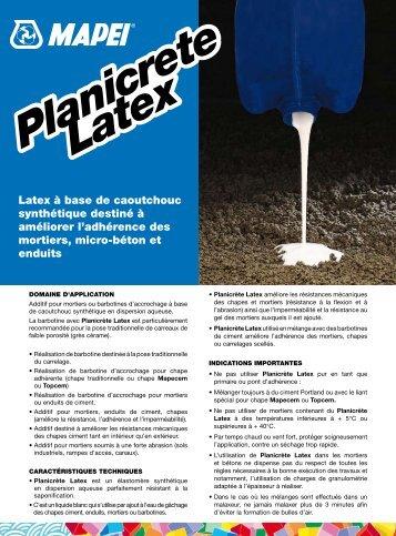 Planicrete Latex - Bigmat