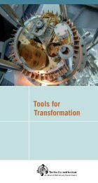 Tools for Transformation - MESA
