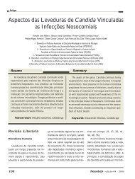 Aspectos das Leveduras de Candida Vinculadas as ... - NewsLab