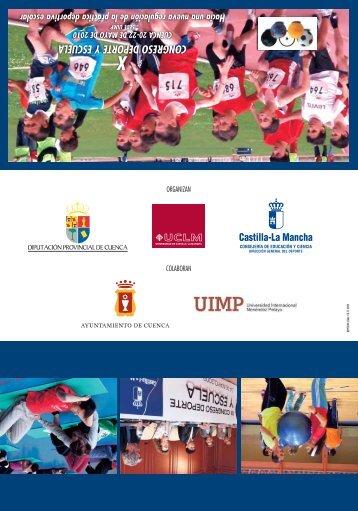 congreso deporte y escuela - Universidad de Castilla-La Mancha