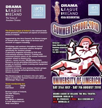 DLI Summer School Programme - Clare County Library