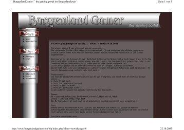 Seite 1 von 5 ` BurgenlandGamer ´` the gaming portal im ...