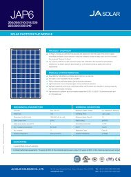 SOLAR PHOTOVOLTAIC MODULE - Enerpoint