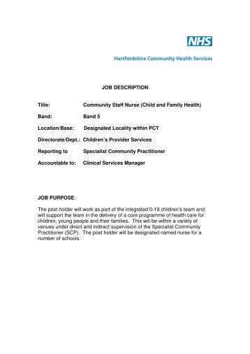 Sample Community Work Study Job description: Job Title: Volunteer ...