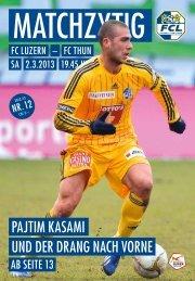 Ausgabe 12 - FC Luzern