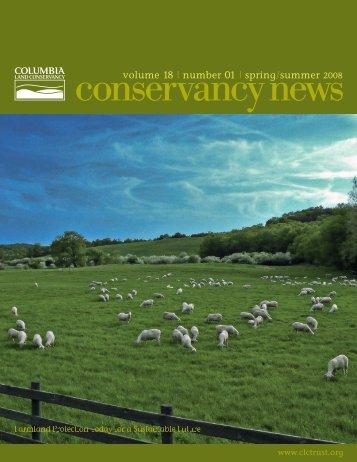 Spring 2008 - Columbia Land Conservancy