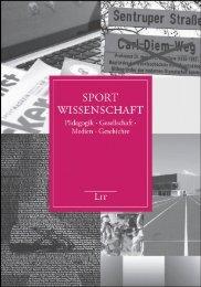Sportwissenschaft - LIT Verlag