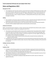 Rules and Regulations 2013 - BC Angus Association