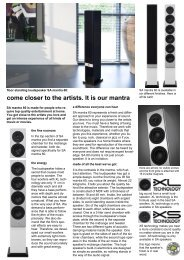 come closer to the artists. It is our mantra - System Audio