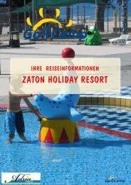 ZATON HOLIDAY RESORT - Adria-Pur